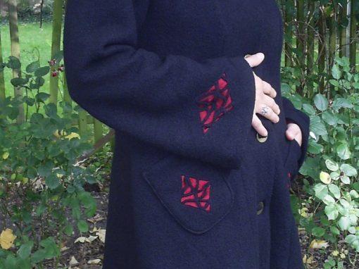 Mantel schwarzer Turmalin