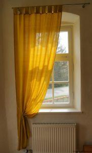 vorhang sonnengelb
