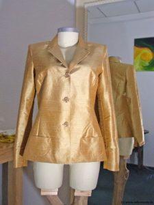 Blazer-gold