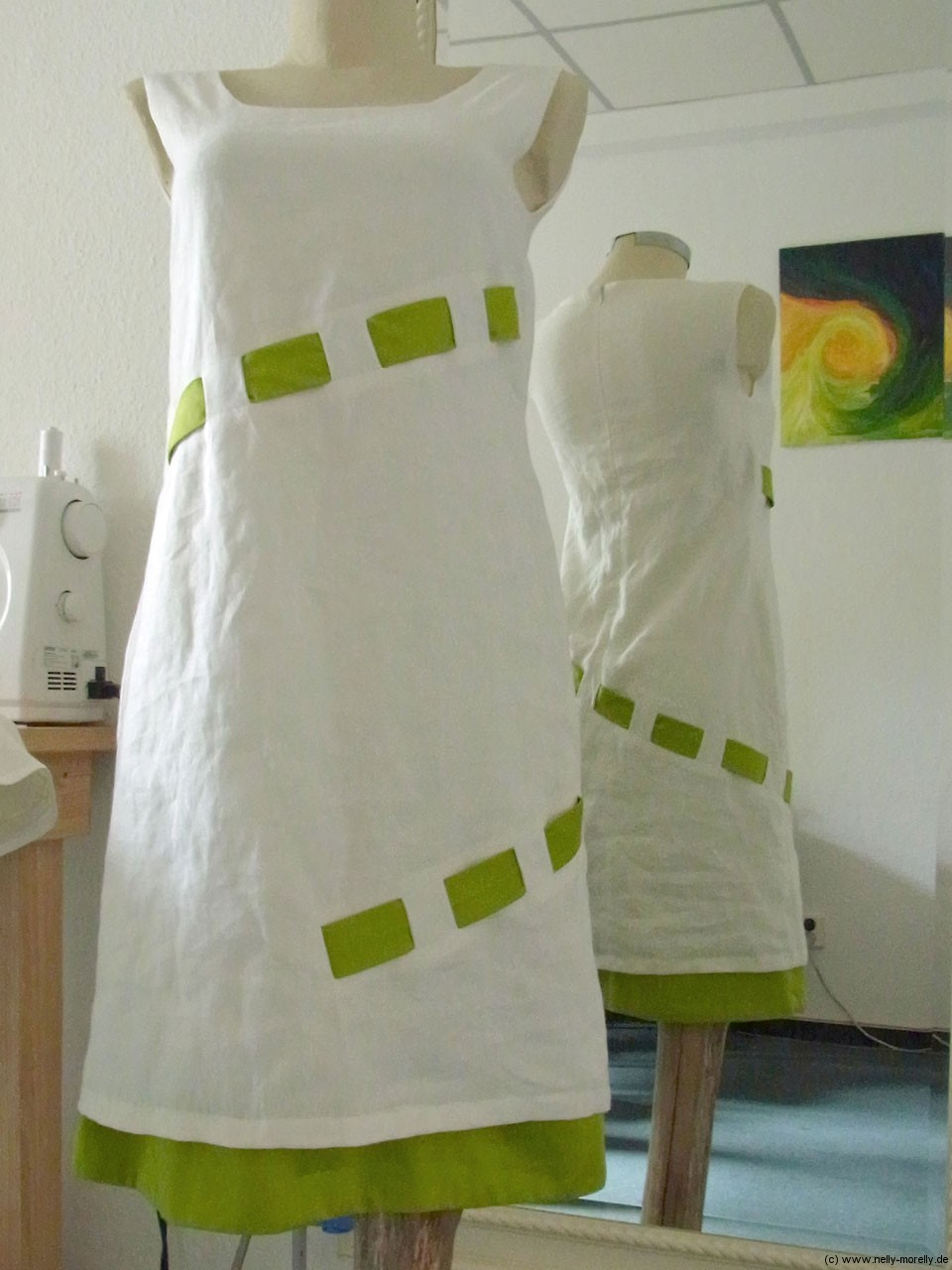 Ziemlich Weiße Leinen Brautkleid Zeitgenössisch - Brautkleider Ideen ...