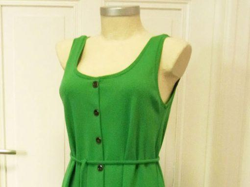 Kleid Sommer aus Bio-Baumwoll-Jersey